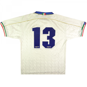 1994-96 Italia Maglia Away #13 Match Issue L