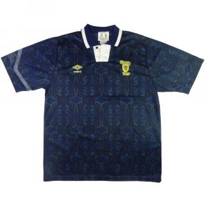 1992-94 Scotland Home shirt L