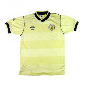 1994-96 Scotland Home shirt S