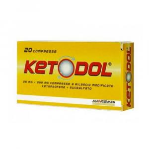 KETODOL COMPRESSE A BASE DI KETOPROFENE E SUCRALFATO