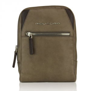 Shoulder bag Piquadro  CA3084W73 TORTORA