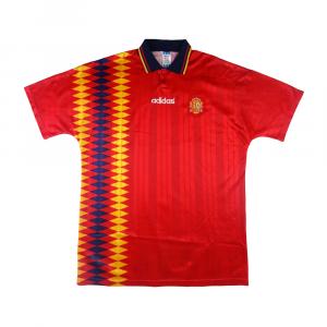 1994-96 Spagna Maglia Home XL