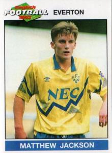 1990-92 Everton Maglia Away L