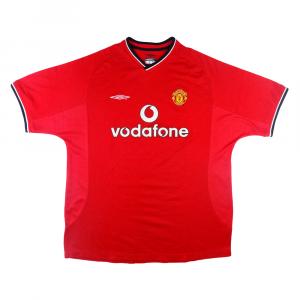 2000-02 Manchester United Maglia Home XL