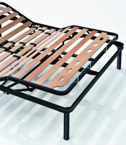 Rete in ferro motorizzata a doghe in legno Ortopedica | Kiwi |Prezzi a partire da