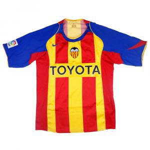 2004-05 Valencia Terza Maglia M