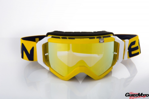 Maschera Ethen DIRT GOOGLES ZeroCinque TOP MX0535 per fuoristrada. Giallo/blue