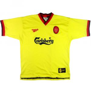 1997-99 Liverpool Maglia Away L