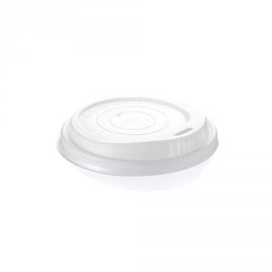 Coperchi biodegradabili per bicchieri cartoncino 240 ml
