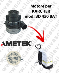 BD 450 BATT MOTORE AMETEK di aspirazione per lavapavimenti KARCHER