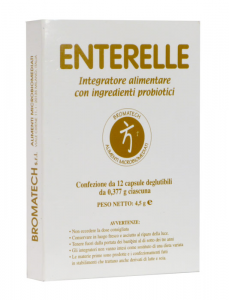 Enterelle - Fermenti lattici con Saccharomyces Boulardii - Probiotici
