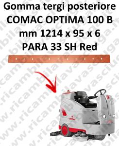 Gomma tergi posteriore X lavapavimenti COMAC tergipavimento OPTIMA 100B