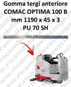 Gomma tergi anteriore per lavapavimenti COMAC tergipavimento OPTIMA 100B