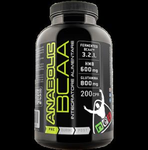ANABOLIC BCAA - Gli Aminoacidi Specifici Per Il Pre-Workout