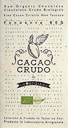 Crus de Cacao-Dark chocolat 80 %