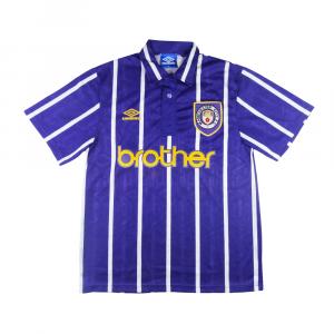 1992-94 Manchester City Maglia Away L