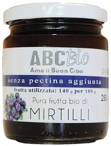 Composta di Mirtilli Bio - Senza pectina aggiunta