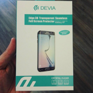 Cover in silicone trasparente + Pellicola protettiva in PET per Samsung Galaxy S7, S7 edge, S8, S8 Plus