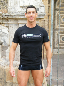 T-shirt Ufficiale - BIIOSystem- Il primo sistema di allenamento in Italia - Unisex (Semplice)