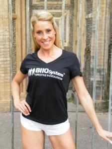 T-shirt Ufficiale - BIIOSystem - Il primo sistema di allenamento in Italia - Donna