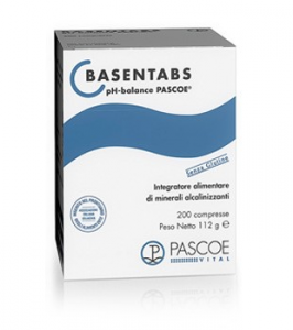Basentabs Pascoe - Sales carbonatos y zinc en tabletas