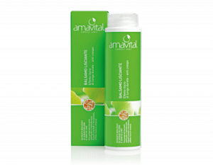 AMAVITAL BALSAMO LISCIANTE nutre e alleggerisce i capelli, offre un'azione anticrespo ed un effetto liscio a lunga durata