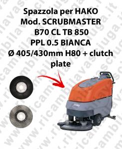SPAZZOLA LAVARE  per lavapavimenti HAKO modello SCRUBMASTER B70 CL TB 850