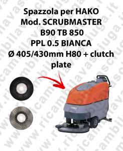 SPAZZOLA LAVARE  per lavapavimenti HAKO modello SCRUBMASTER B90 TB 850