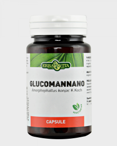GLUCOMANNANO - INTEGRATORE INTESTINALE ERBAVITA 500 MG 60 CAPSULE