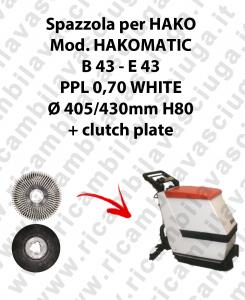 SPAZZOLA LAVARE per lavapavimenti HAKO modello HAKOMATIC B 43 E 43
