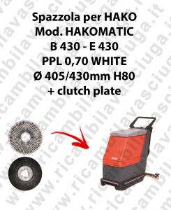 SPAZZOLA LAVARE per lavapavimenti HAKO modello HAKOMATIC B 430 E 430