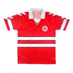 1988-90 Danimarca Home Maglia M (Top)