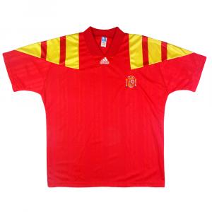 1992-94 Spagna Maglia Home L (Top)