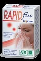 RAPIDFLU BIOPELMO OROSOLUBILE le soluzioni naturali per liberare e calmare le alte vie respiratorie, purificare e proteggere le mucose della gola.