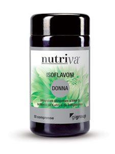 ISOFLAVONI DONNA integratore alimentare coadiuvante nell\u2019attenuare i disturbi legati alla menopausa.
