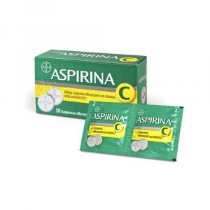 ASPIRINA C- COMPRESSE EFFERVESCENTI CON VITAMINA C