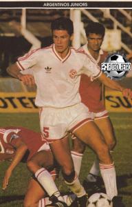 1987-88 Argentinos Juniors Maglia Away L (Top)