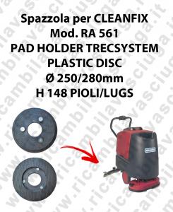 PAD HOLDER TRECSYSTEM  per lavapavimenti CLEANFIX modello RA 561