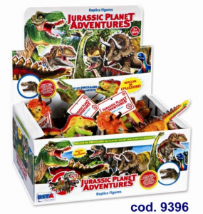 DINOSAURO SERIE PICCOLA DISPLAY (12) 9396 RONCHI SUPERTOYS