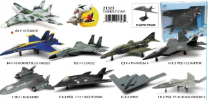 AEREI 1:72 SKYPILOT FIGHTER 6 ASS 21313 NEW RAY
