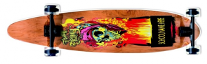 SKATEBOARD LONGBOARD 100 X 23 RUOTE 70X42 MM 9869 RONCHI SUPERTOYS