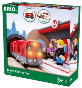 BRIO set metropolitana 33513 RAVENSBURGER
