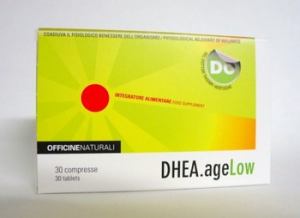 DHEA. AGE LOW - Stimulates and restores the normal physiological values of the body