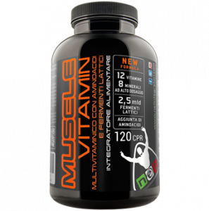 MUSCLE VITAMIN- Vitamins and amino acids for muscle growth