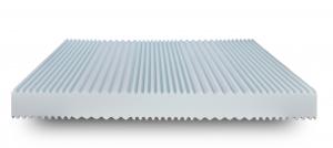 Materasso Waterfoam Ecologico tessuto Sfoderabile Ortopedico H22 | Mare |Prezzi a partire da