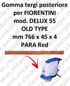 DELUX 55 old type GOMMA TERGI posteriore per tergipavimento FIORENTINI