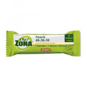 ENERZONA SNACK CHEESE CAKE - BARRETTA DA 1 BLOCCO 40-30-30 DIETA A ZONA
