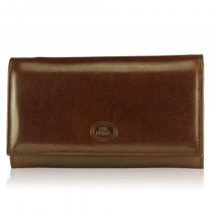 Woman wallet The Bridge  01774201 14 Cuoio