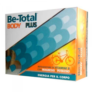 BODY PLUS BE-TOTAL - INTEGRATORE PER ENERGIA CON VITAMINA B, POTASSIO E MAGNESIO 20 BUSTINE