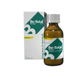 SCIROPPO VITAMINA B BE-TOTAL GUSTO LIMONE - FLACONE DA 100ml